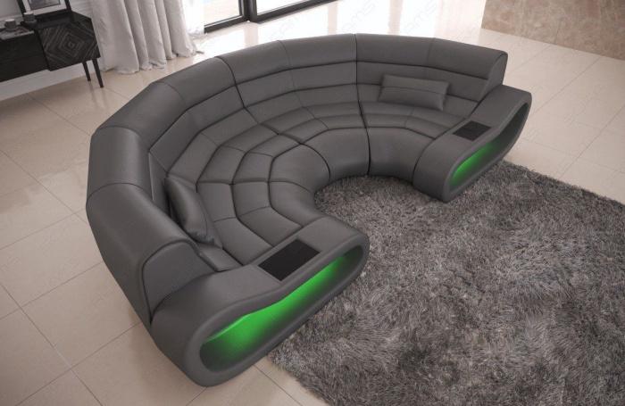 Fabelhaft Big sofa Grau Bilder Von Wohndesign Stil