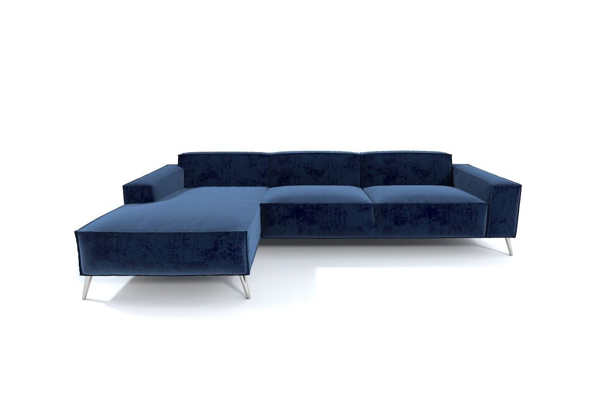 Modernes Lounge Sofa Cuneo Mini in der L Form aus Stoff
