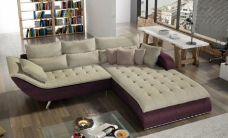 Stoffsofas in Webstoff oder Microfaser Bezug | Sofa Dreams